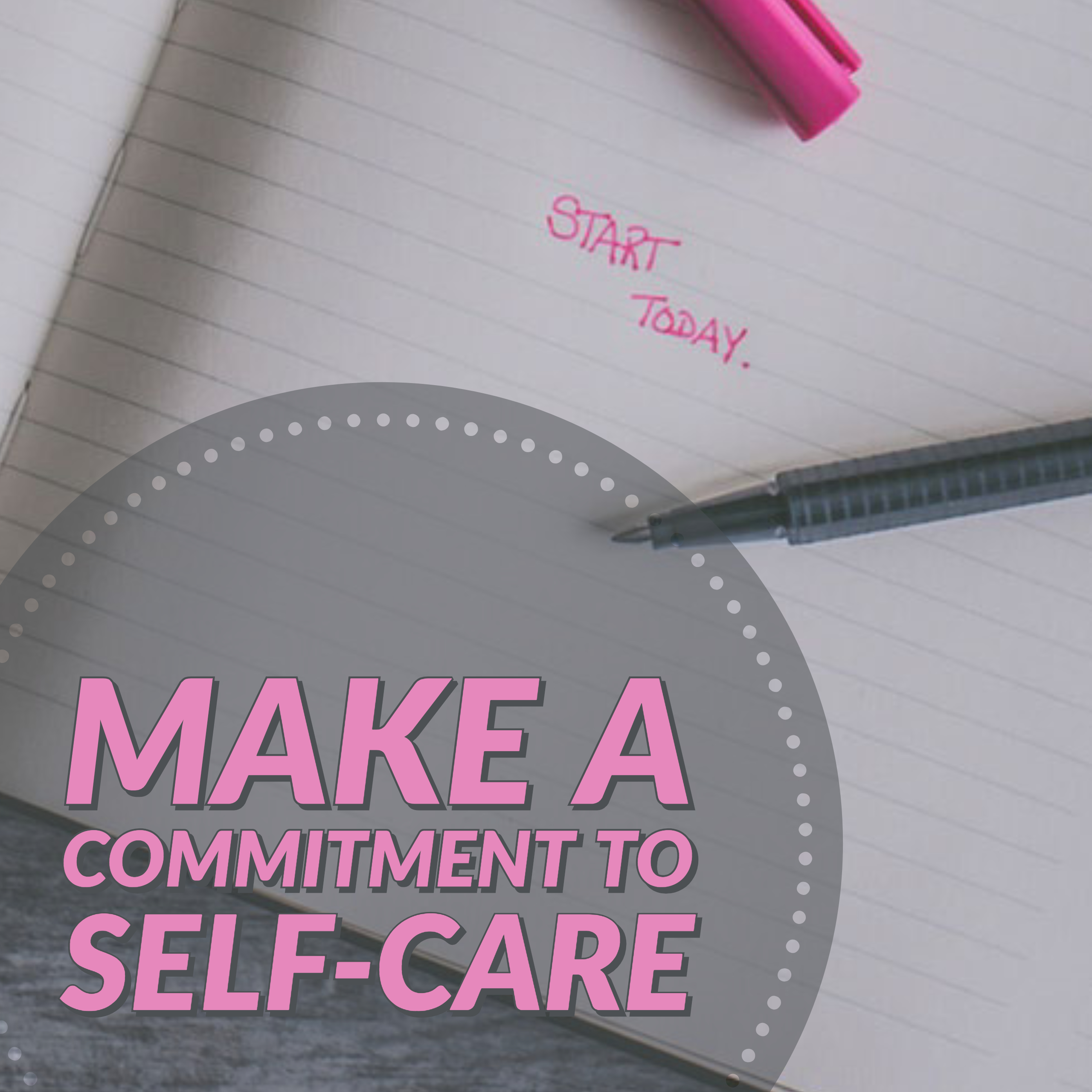 Self-Care and Co-Care: It's Time to Make a Care-mmitment!