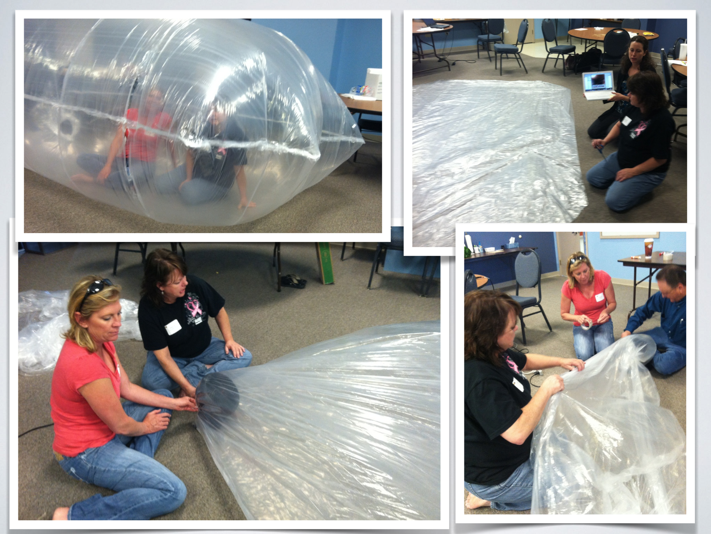 Inflatables: blowing up the creative mind!